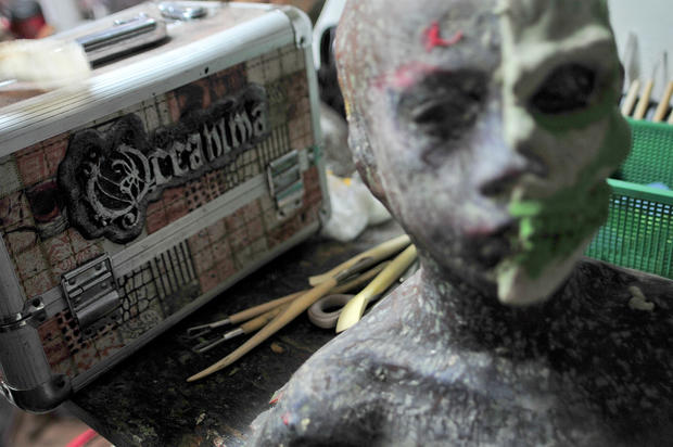 Ghoulish makeovers