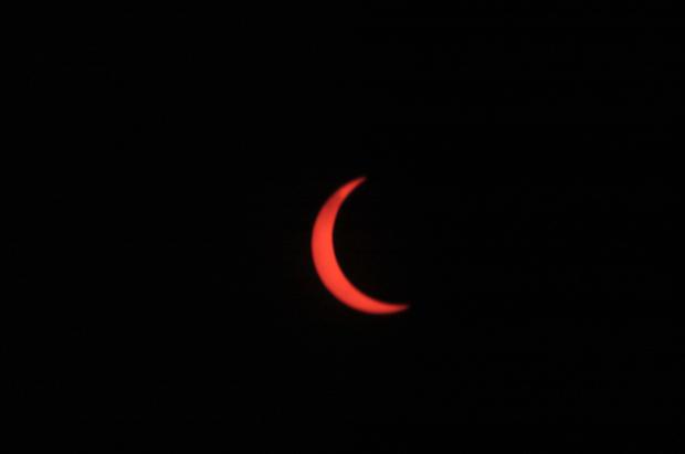 Rare solar eclipse