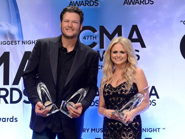 2013 CMA Awards press room