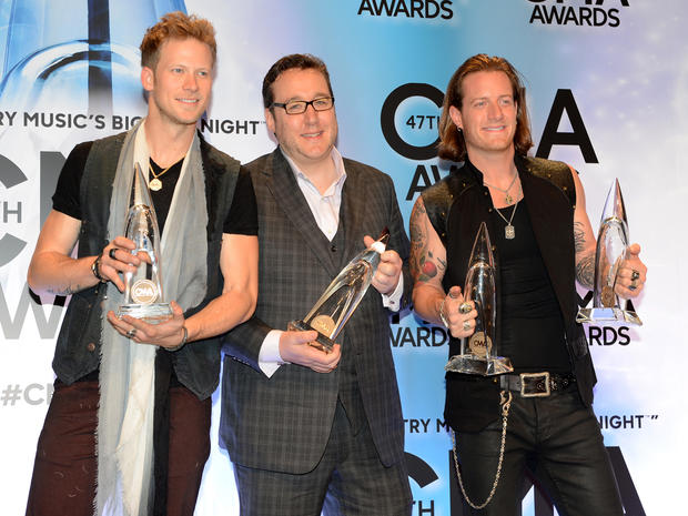 2013 CMA Awards press room