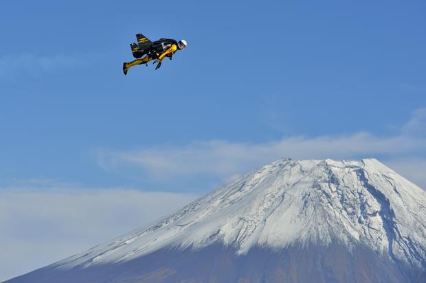 Jetman over Japan