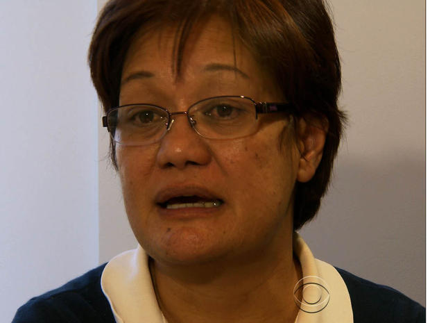 Jackie Duerr正在为她在菲律宾家乡Tacloban的台风幸存者募集资金和物资。