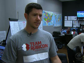 Matt Pelak is one of the leaders of a group of military veterans who are planning to do relief work in the Philippines.