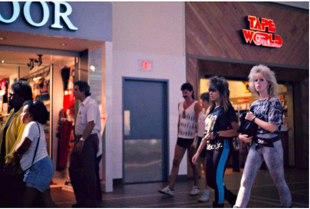 Mall culture in the 1980s