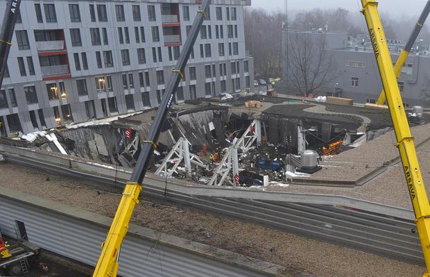 Store collapse kills dozens in Latvia