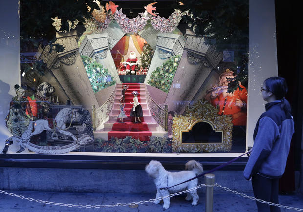 Festive windows kick off holiday season