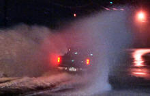 Driving conditions worsen as millions hit the road