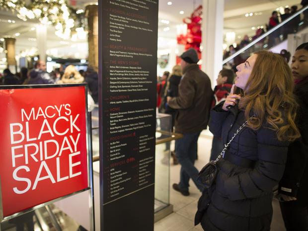 """Black Friday"" shopping 2013"