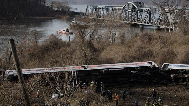 NYC train derailment