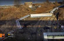 Commuter train derailment in New York City kills four, injures dozens