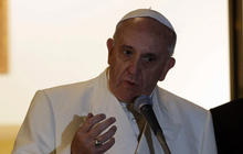 Pope Francis addresses church sex abuse scandal