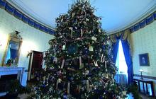 A tour of the White House holiday decorations