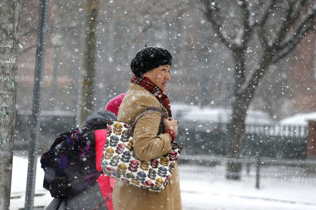 Early storms chill much of U.S.
