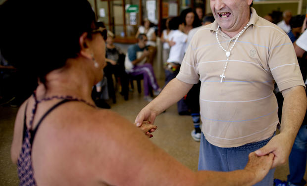 Tango therapy in Argentina