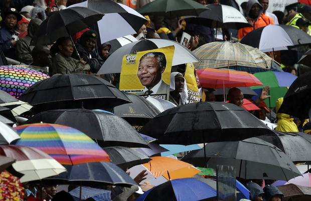 Nelson Mandela Memorial at Soweto Stadium