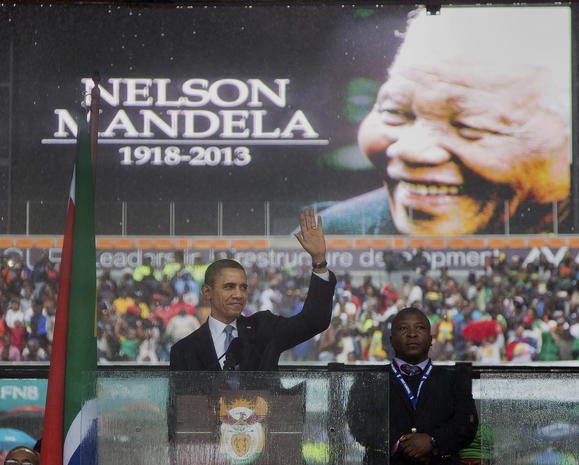 Nelson Mandela Memorial at Soweto Stadium