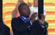 Phony sign language interpreter blames schizophrenia