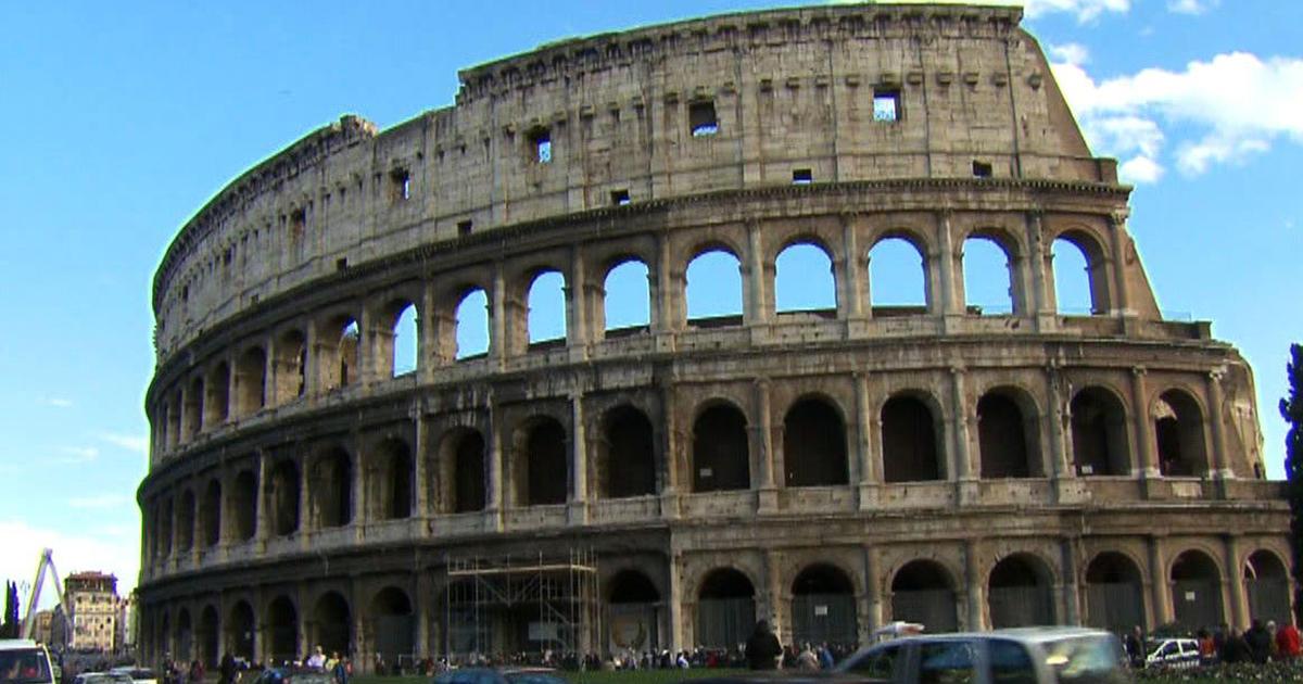 Saving the Colosseum: Restoration work begins on Rome's ...