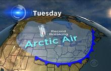 Upcoming arctic blast to break record lows
