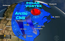 Polar vortex shatters temperature records