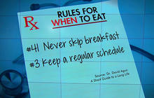Simple rules for good health