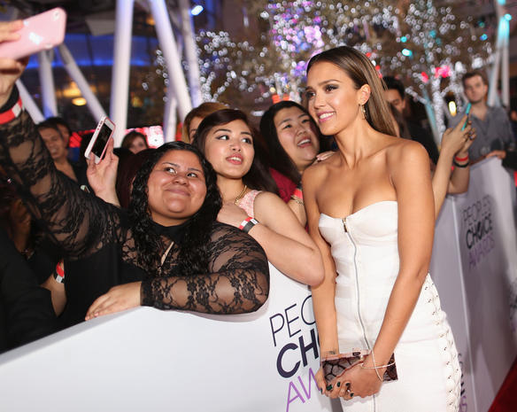 People's Choice Awards 2014 red carpet