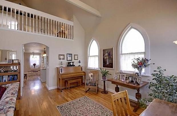 5 Churches Transformed Into Homes Cbs News