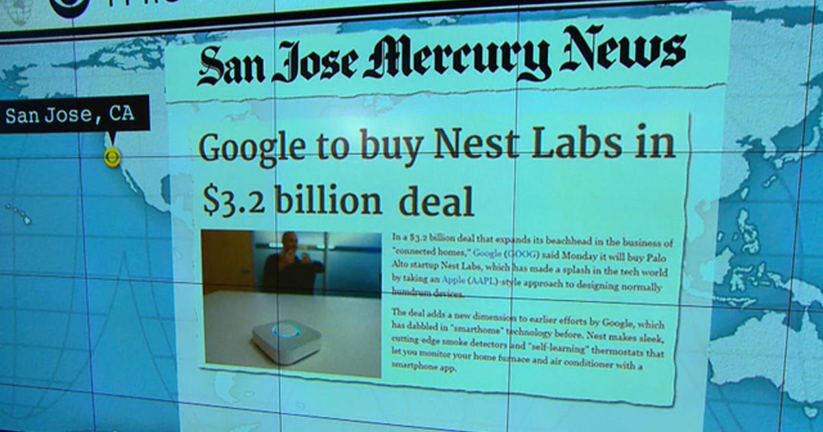Headlines at 8:30: Google to buy Nest Labs, maker of smart ...