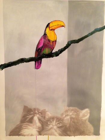 Art scene gets catty in L.A.