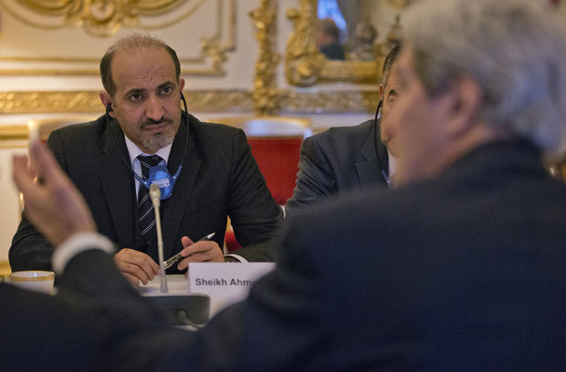 SNC chief Ahmed al-Jarba