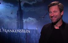 "Aaron Eckhart, Yvonne Strahovski on ""I, Frankenstein"""