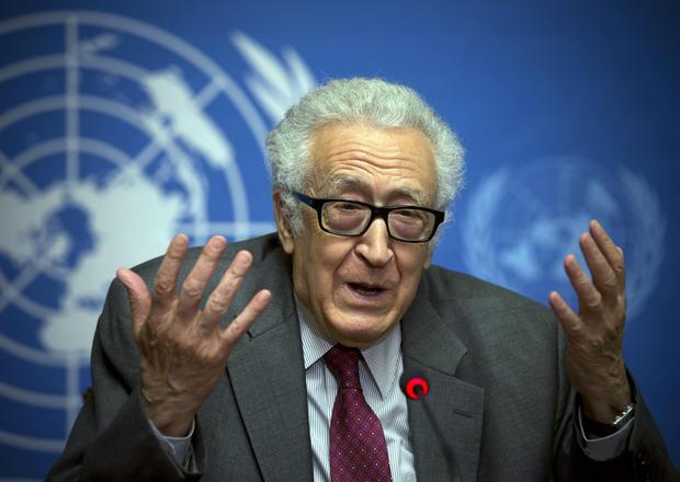 U.N. mediator for Syria Lakhdar Brahimi