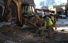 Freezing winter weather bursts city budgets