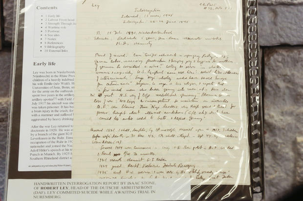 A collection of documents used by prosecutors at the Nuremberg Trials to help convict top Nazis is being put on public displayon display at the Jewish Educational Center in Berlin.