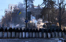 Ukraine protesters brutalized, military urges action to restore stability