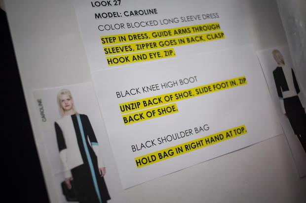 Behind the scenes at NYC Fashion Week 2014