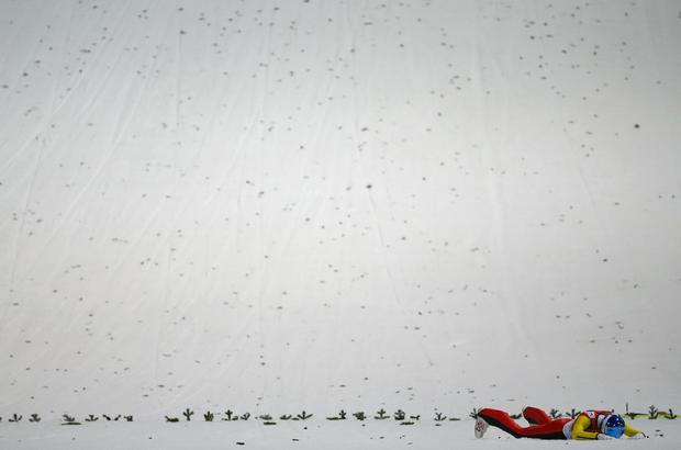 Wipeouts at Sochi