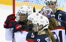 U.S. women's hockey team loses to rival Canada