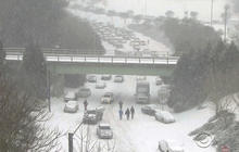 Raleigh cleans up gridlock after winter storm