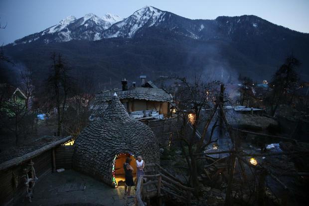 Steaming in Sochi