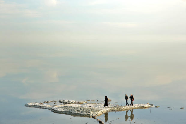 Iran's great shrinking lake