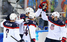 U.S. men's hockey score Olympic victory against Czech Republic