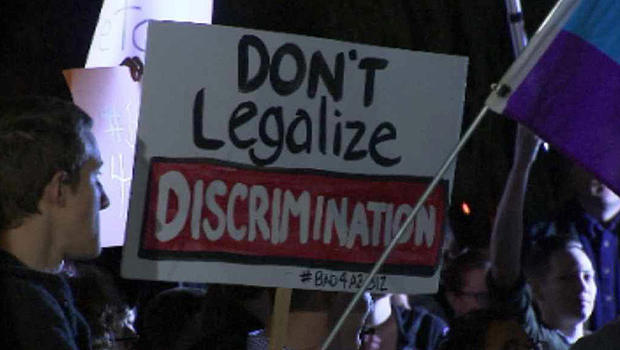 Gay discrimination bill