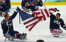 Paralympic sled hockey team plans for gold at Sochi