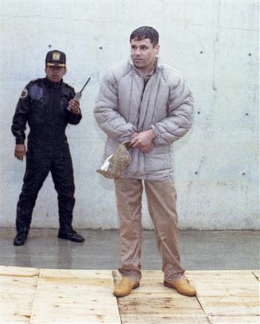 """Drug lord Joaquin """"El Chapo"""" Guzman escapes Mexico prison"""