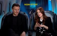 "Julianne Moore, Liam Neeson talk ""Non-Stop"""