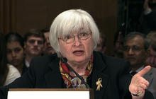 Yellen: Weather playing a role in weak economic data