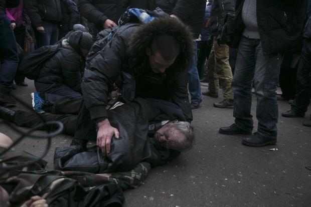 Clashes in Crimea