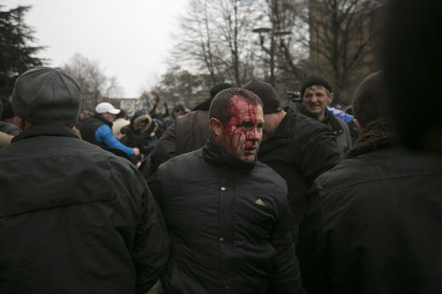 Clashes in Crimea