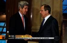 U.S. pushes Russia to remove military in Ukraine